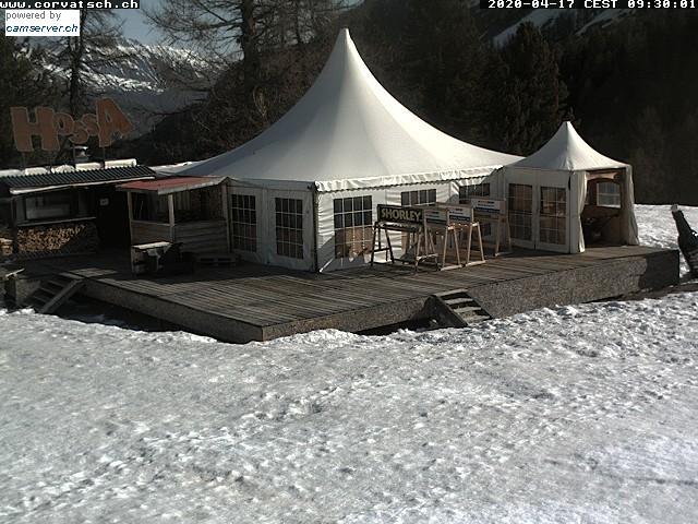 Livecam: Après-Ski auf dem Corvatsch