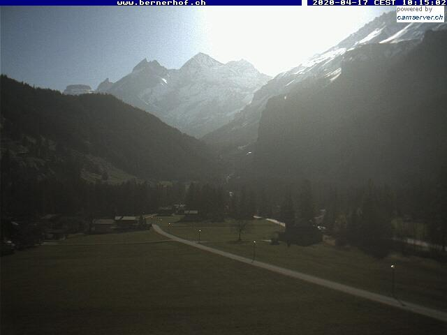 Swiss-Webcam.ch - Webcam Kandersteg, Hotel Bernerhof