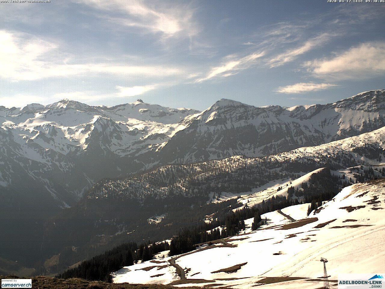 Webcam en Betelberg (1140m.), Adelboden - Lenk (Suiza)