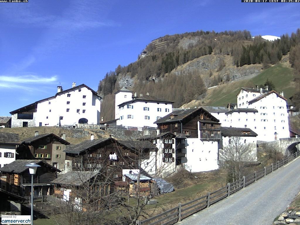 Webcams spl gen in graub nden alpen for Therme rheinfelden deutschland