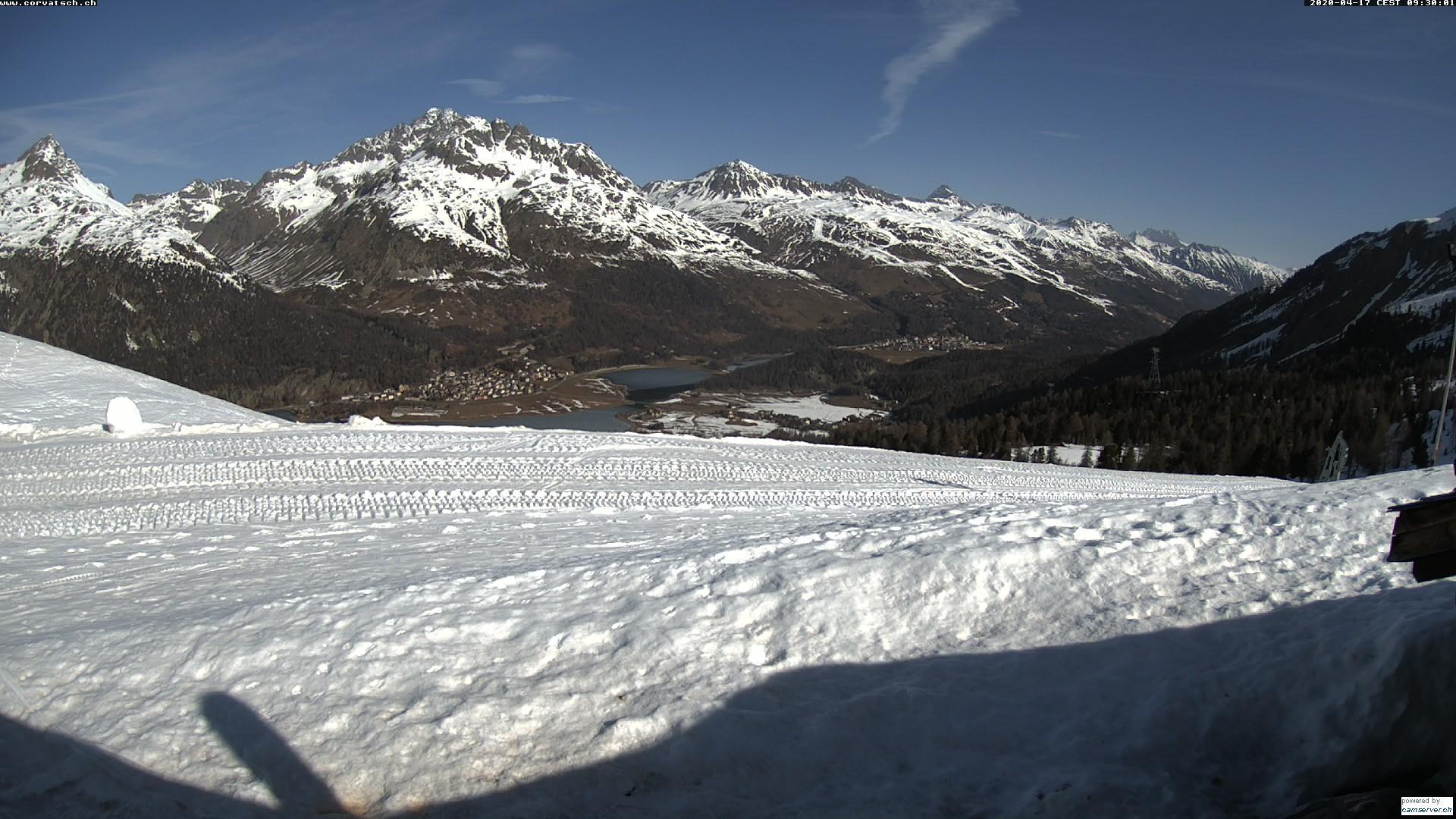Webcam en Alpetta Hütte, St. Moritz (Suiza)